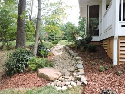 Landscaped Walkway