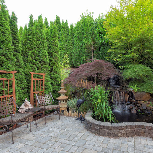 soften your landscape with hardscape