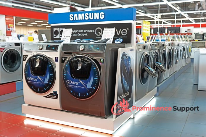 Samsung Washing Machine Review Prominence Support