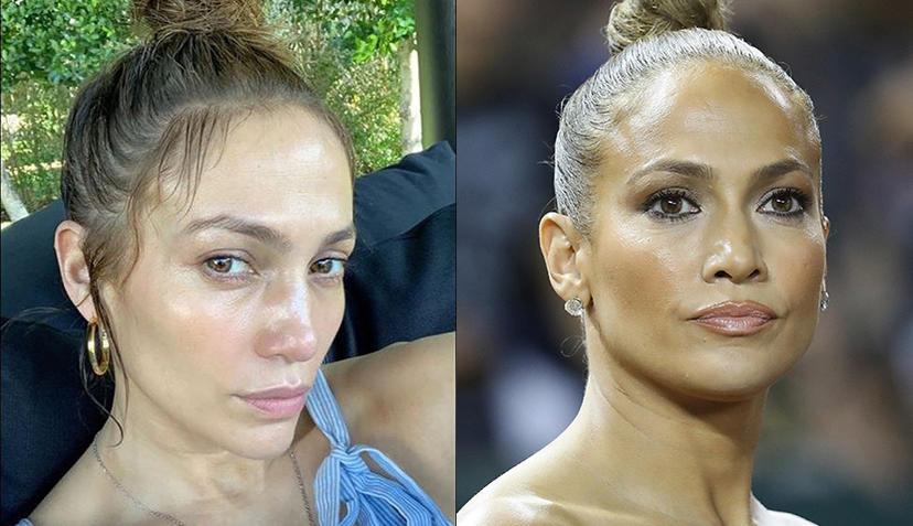 Wie sylvie meis, jennifer aniston, bar refaeli und co. Stars Ungeschminkt Wie Jennifer Lopez Co Oben Ohne Aussehen Promiwood