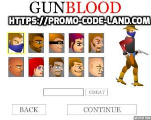 Cheats For Gunblood