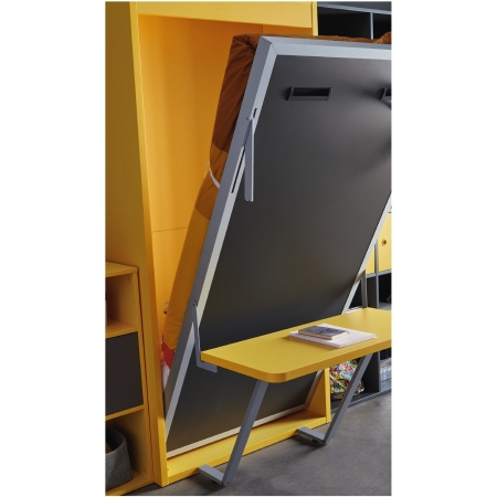 armoire lit escamotable vertical rabatable bureau personnalisable sur mesure amenagement salon chambre