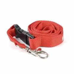 Deluxe Polyester Lanyard with plastic buckle - 900 mm