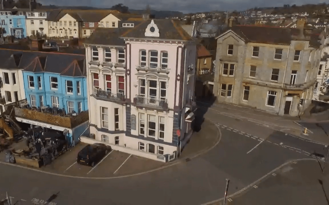 Our First Video Add is Live – The Blenheim, Dawlish