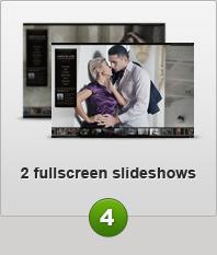 2 fullfcreen slideshows