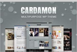Cardamon WP – Multiporpouse WordPress Theme