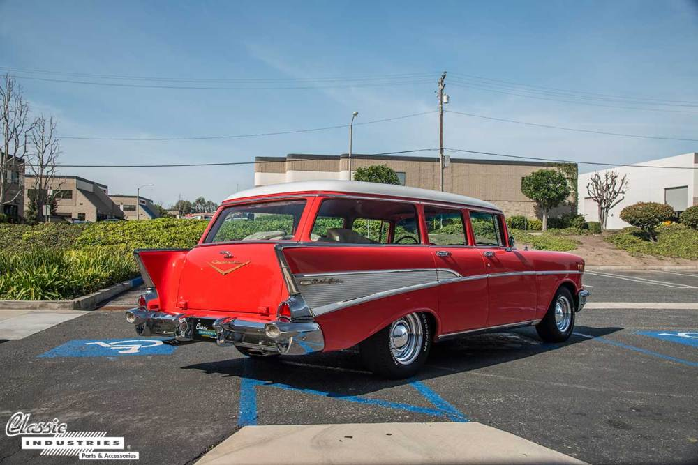 medium resolution of however aside from the two door nomad there was also a four door bel air wagon body style this 1957 bel air wagon belongs to read more