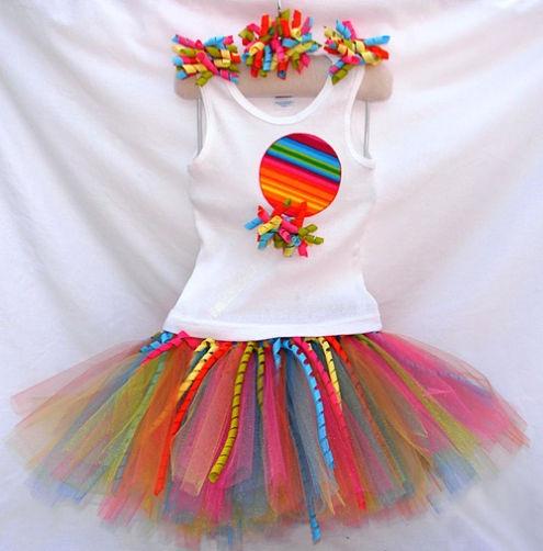 rainbow birthday party theme