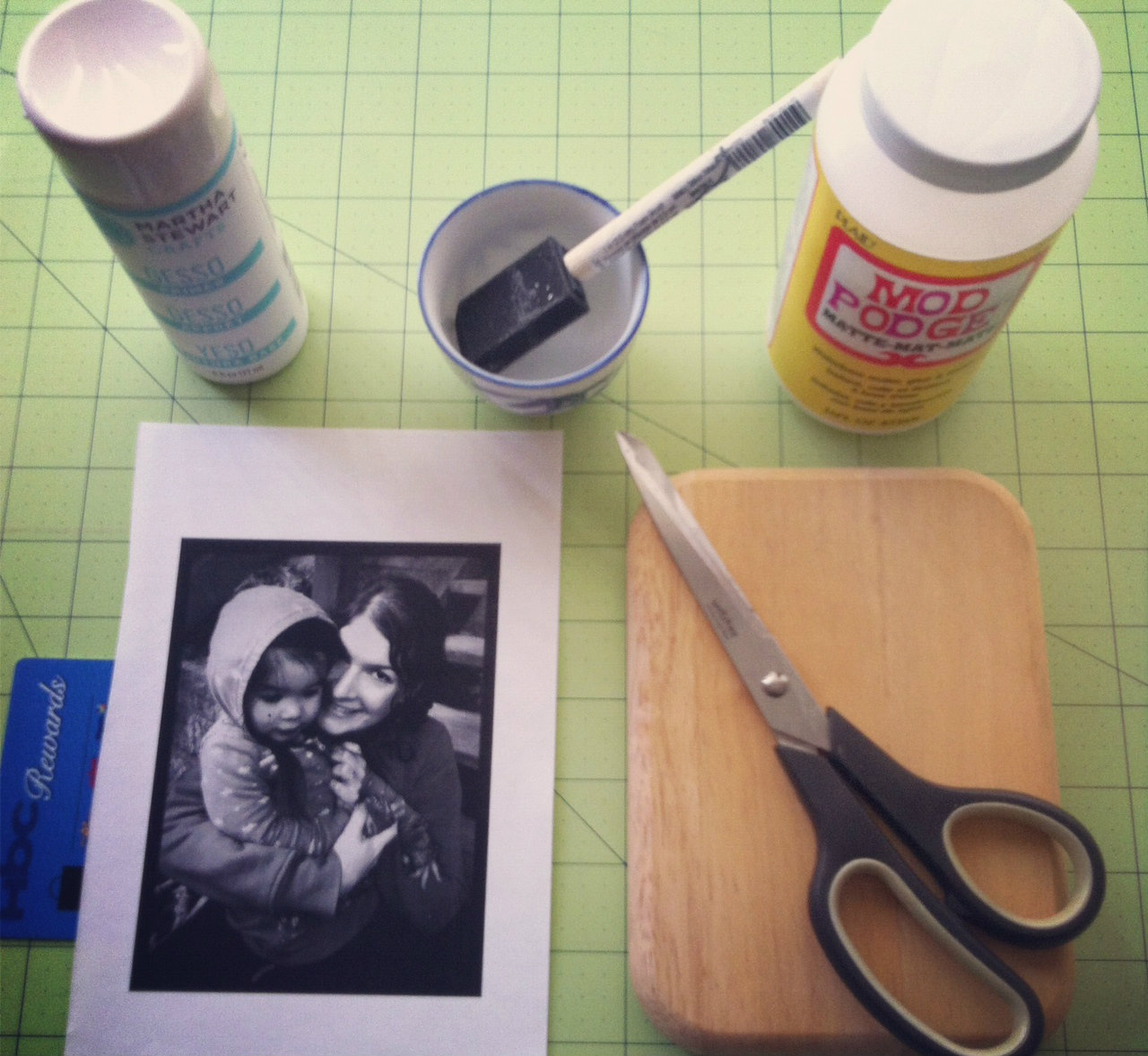Transfer a photo on wood. DIY tutorial.