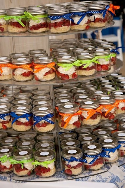 Cupcake in a Jar Ideas