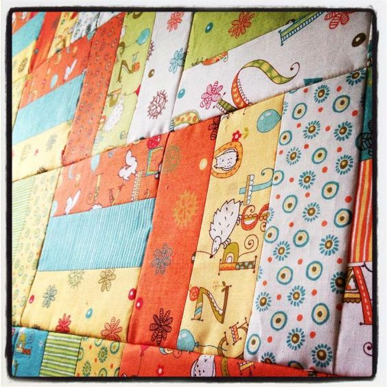 Rail Fence Jelly Roll Quilt