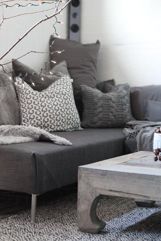 DIY sofa from 2 twin mattresses