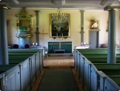 sehr alte Kirche Stockholm-Schärengarden