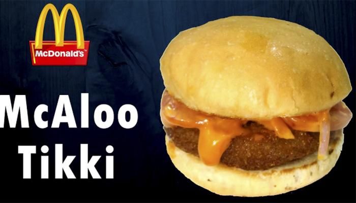 Ejemplo de Marketing Cultural: McDonald's McAloo Tikki