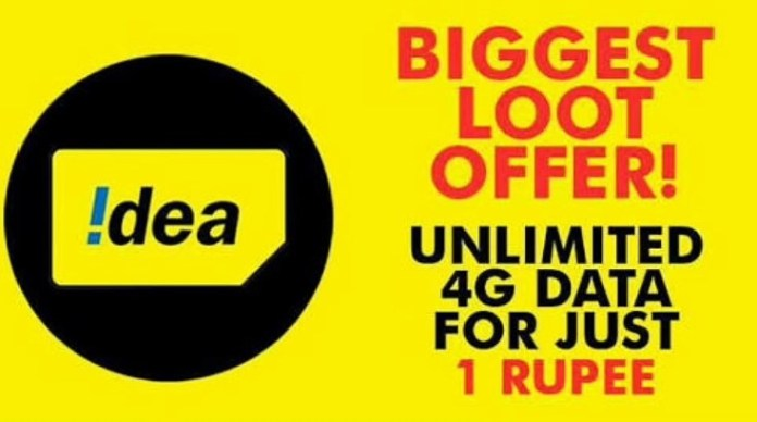 Idea Unlimited 4g data