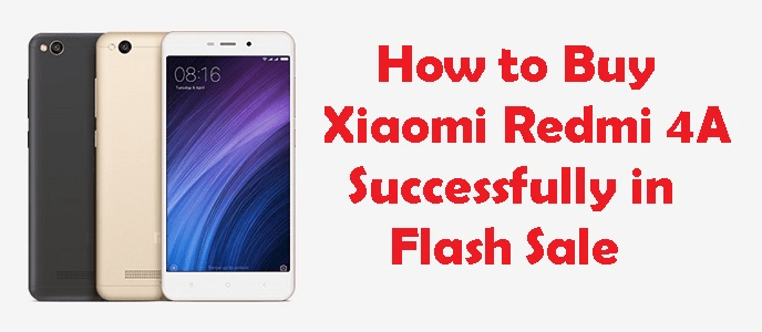 Redmi 4a flash Sale Script Buy