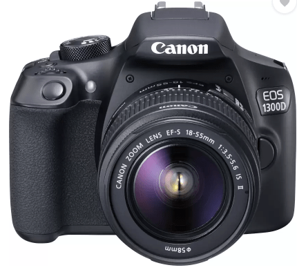Canon EOS 1300D - Best DSLR Cameras Under Rs 30000 In India