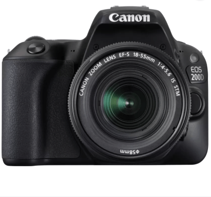 Canon EOS 200D - Best DSLR Cameras Under 60000 in India