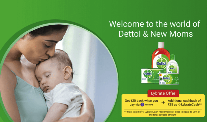Lybrate Dettol Loot - Dettol & Mom Kit Just at Rs 4 Only