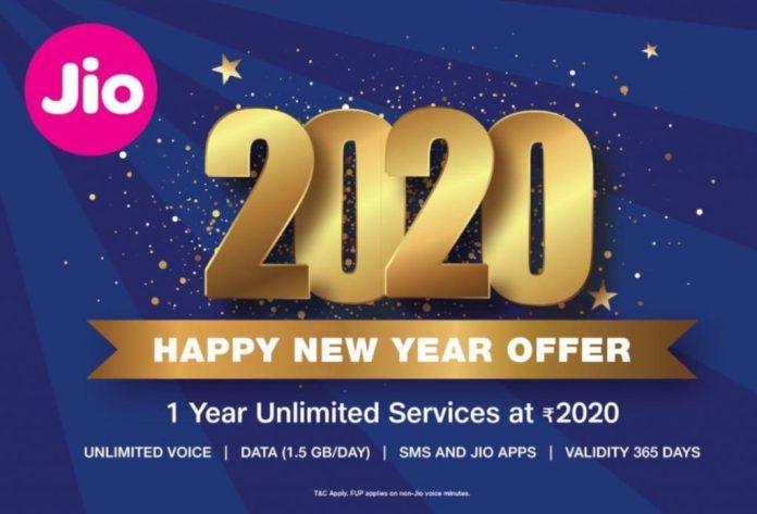 Jio Happy New Year 2020 Plan