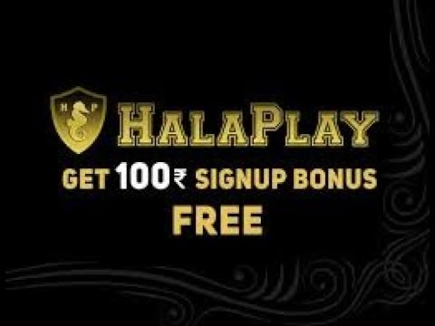 Halaplay Refer Code & Promo Code - Refer & Earn: 50 + Rs.100 / Sign up