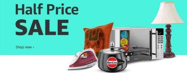 "Amazon Half Price Sale ""Amazon Upcoming Sale"""