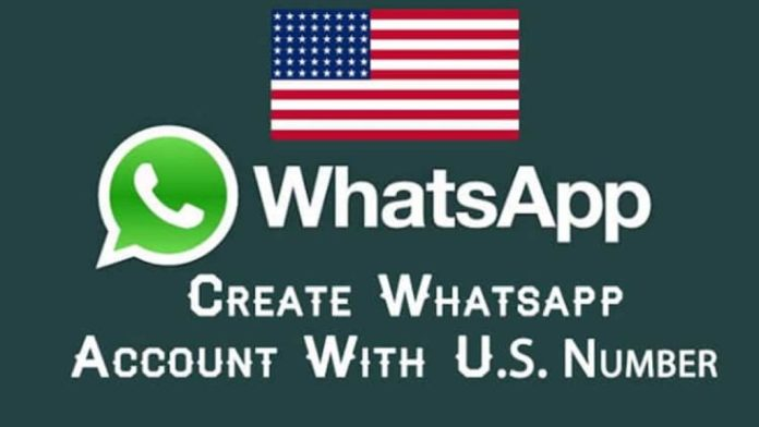 How to create Whatsapp Account with US +1 Number {Latest Method}