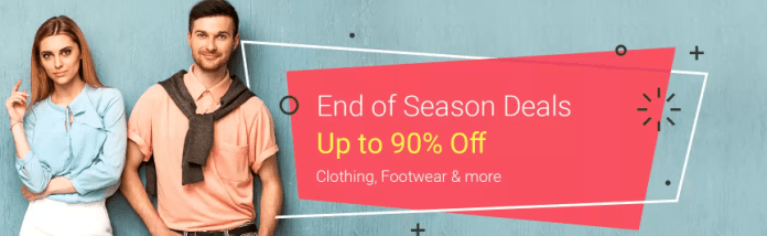 Flipkart Fashion Day Sale offers