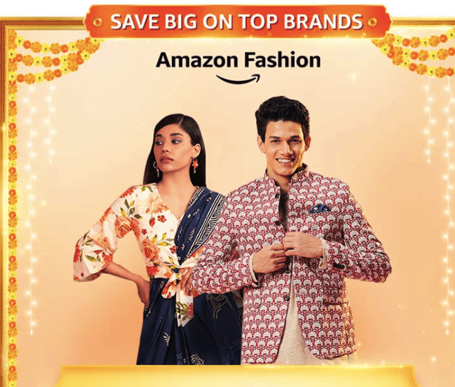 Amazon Great Indian Festival Sale Offer on Fashion