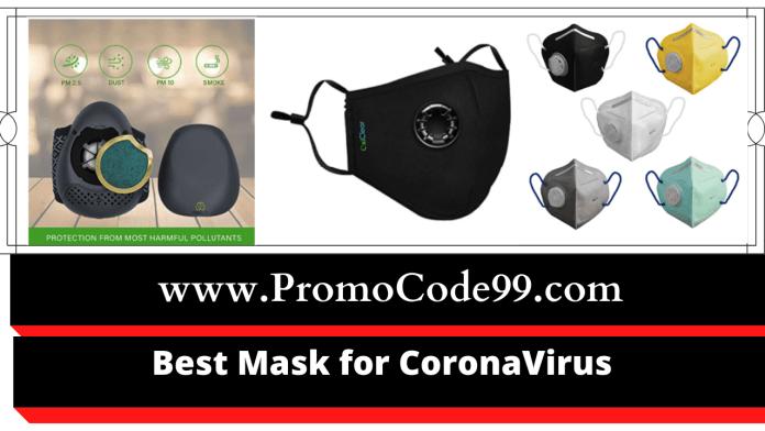 Best face mask for coronavirus in India