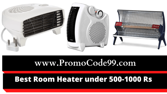 Best Room Heater Under 500-1000 Rs in India [2020 Edition]