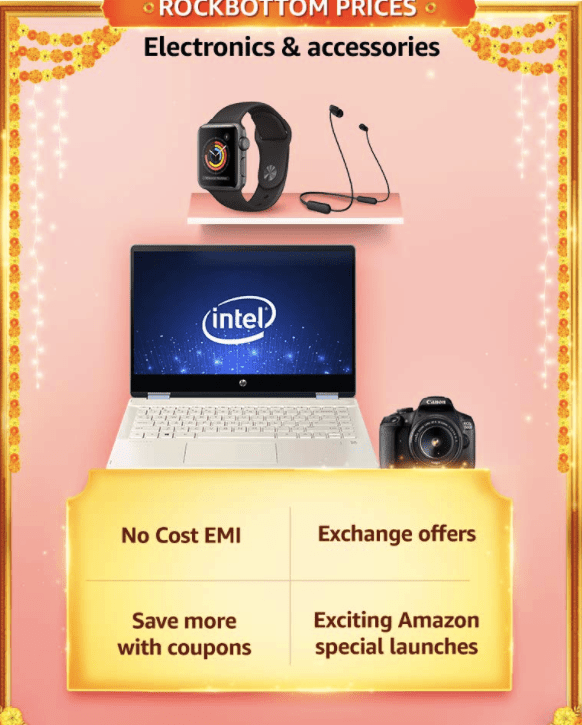 Great Indian Sale offer on Electronics