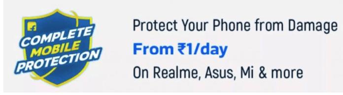 Flipkart complete mobile protection offer