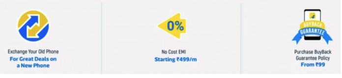 Flipkart Exchange offers on Mobiles