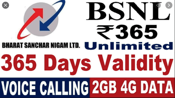Bsnl 365 Plan Details - Unlimited Calls, 2 GB daily Data & 365 Days Validity