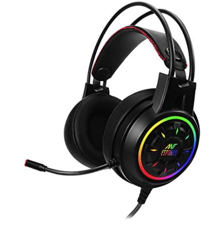Ant Esports Gaming RGB Headphones