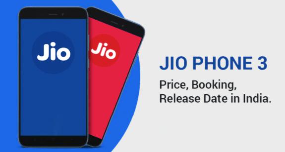JioPhone 3 Price