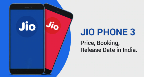 JioPhone 3 Price in India, Specification and Release Date