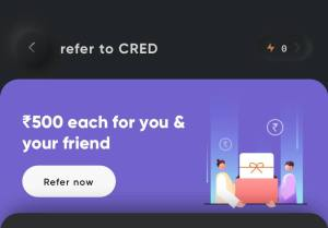 Cred app referral loot