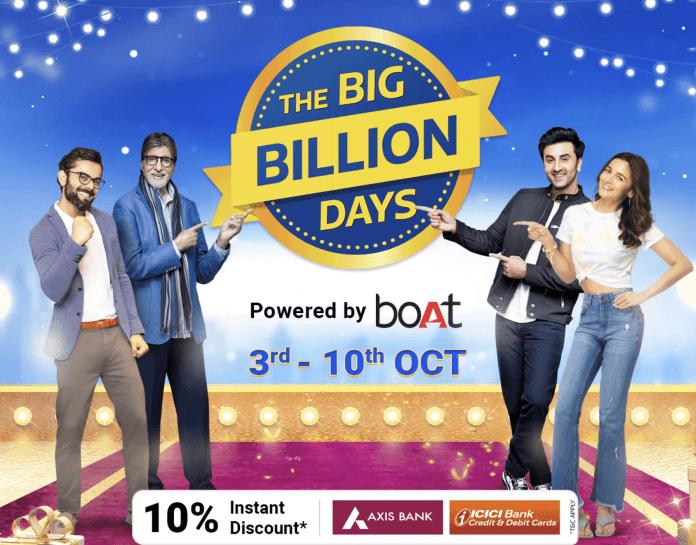 Flipkart Big Billion Days Sale Offers & Deals