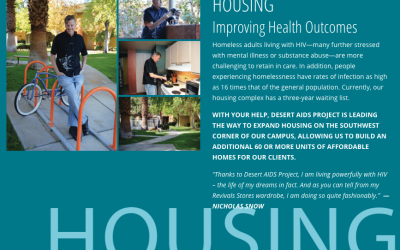 Desert AIDS Project: A World Class HIV/AIDS Service Organization Expands Vision, Mission and Campus