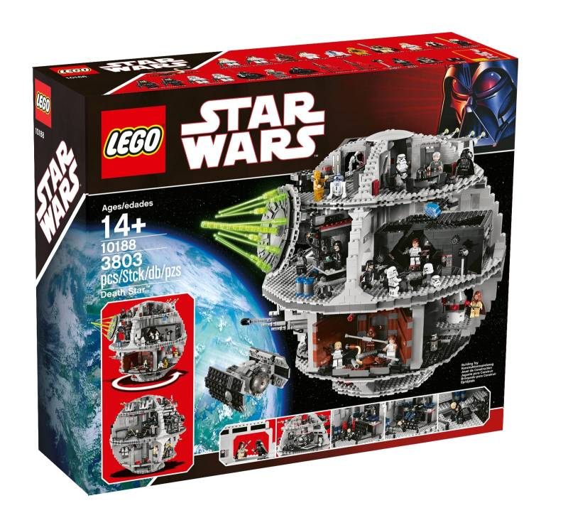 LEGO 10188 Star Wars Death Star - porównaj ceny - promoklocki.pl