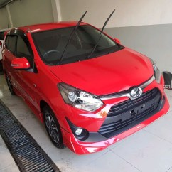 Toyota New Agya Trd 2017 Velg All Yaris 1 2 G At Merah  Promo Kredit