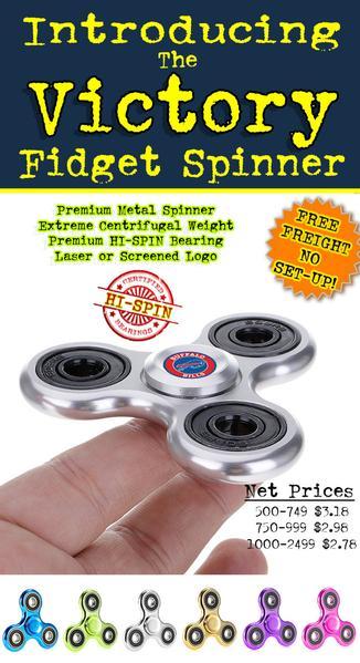 premium quality metal fidget spinner