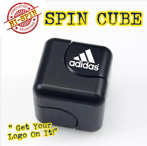 SPIN CUBE for promotional product, tradeshow giveaways and b2b event marketing.