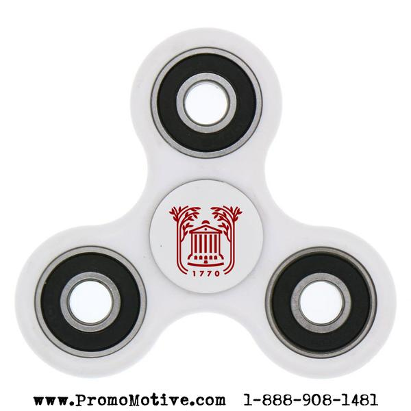 The Fidget Spinner is without a doubt the hottest toy trend and promotional product fad of the 21st century. The Fidget Spinner was originally designed over 25 years ago by Catherine Hettinger
