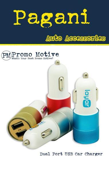 USB multi port 12 volt car chargers
