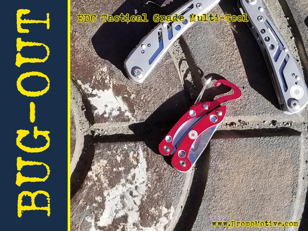 bugout multi tool for trade show promotional products