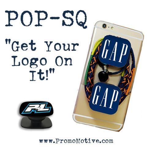 Custom promo square popsocket