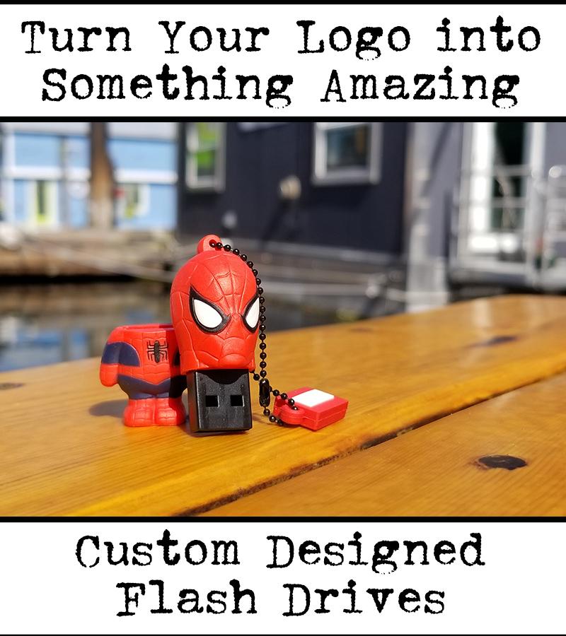 custom flash drive for tradeshow